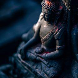 yoga in een klooster