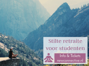 stilte retraite studenten flyer 2