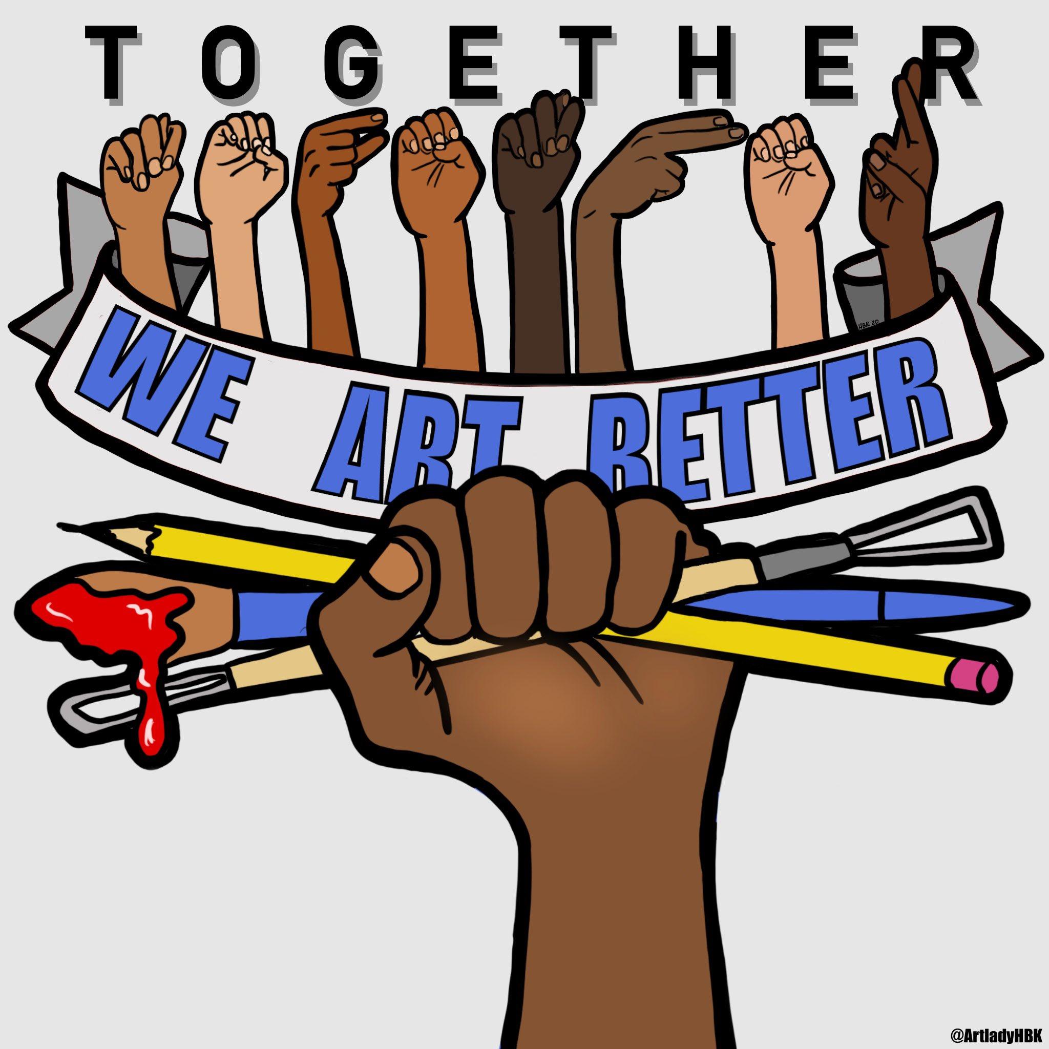 together we art better